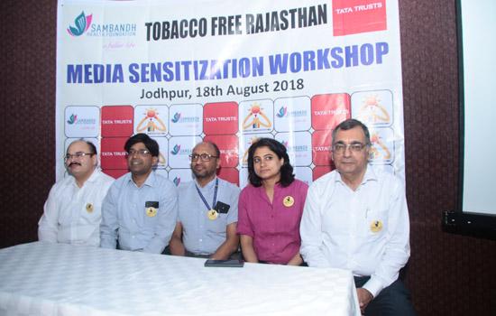 टोबेको फ्री राजस्थान के लिए 'प्लेज फॉर लाइफ' कैंपेन का आगाज