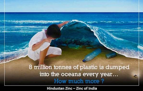 Manthan - 8 Million Tonnes of Plastic is Dumped into the  oceans every year