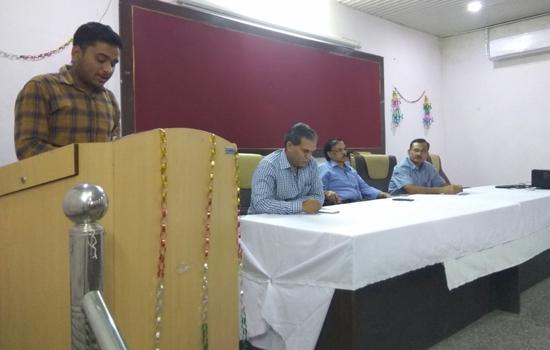 मात्स्यकी महाविद्यालय मे मनाया हिन्दी दिवस समारोह