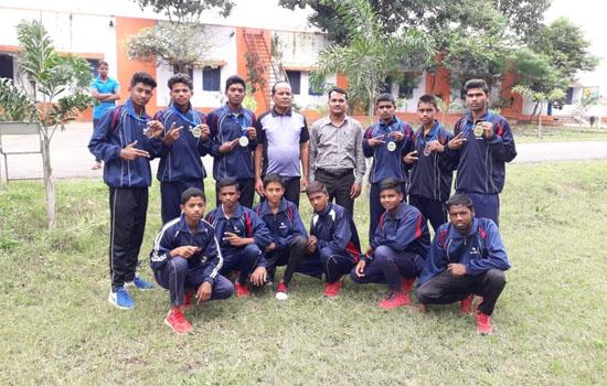 बांसवाड़ा के खिलाड़ियों ने श्रेष्ठ प्रदर्शन कर जीते मेडल