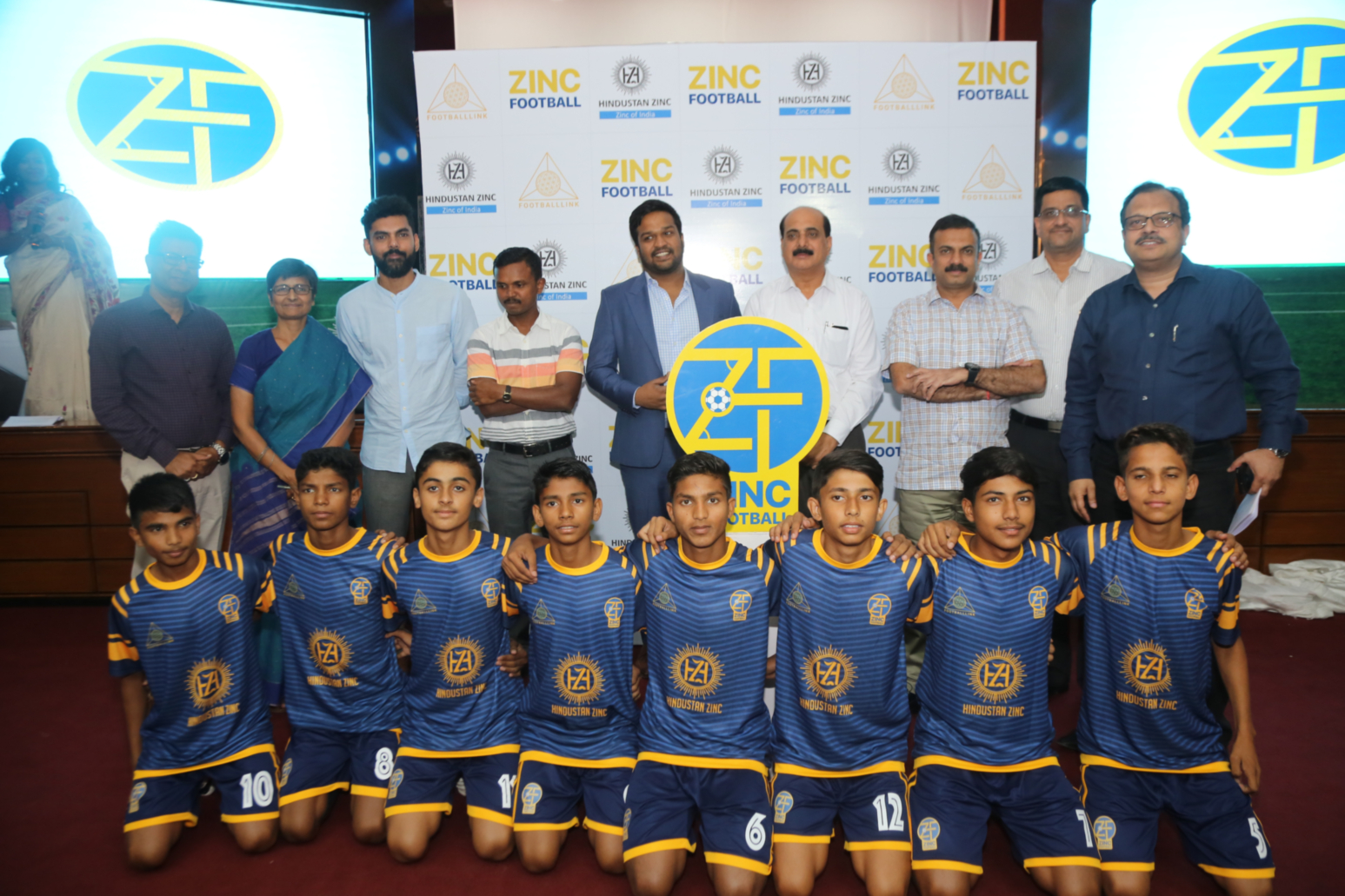 HZLvision : develop 10,000 football players in Rajasthan