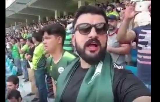 एशिया कप क्रिकेट टूर्नामेंट के दौरान पाकिस्तानी युवक ने गाया भारतीय राष्ट्रगान