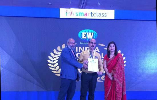 एज्यूकेशन वर्ल्ड इंडिया द्वारा डीपीएस उदयपुर को मिला जिले में प्रथम स्थान