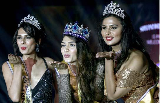 मिस ट्रांसक्वीन इंडिया 2018 का दूसरा संस्करण, मुंबई में वीणा सेन्द्रे ने जीता।