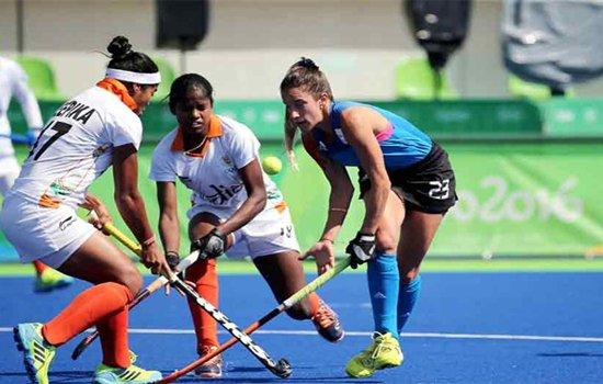 अर्जेंटीना ने हराया भारतीय महिला हॉकी टीम को
