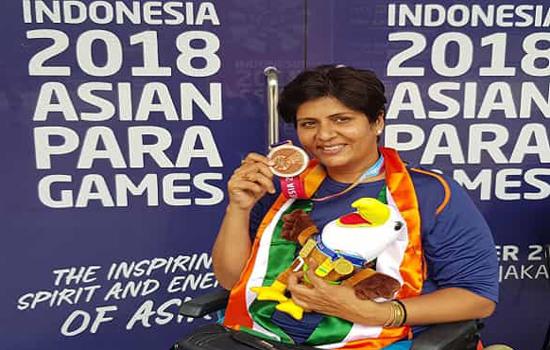 दीपा मलिक को कांस्य पदक से संतोष