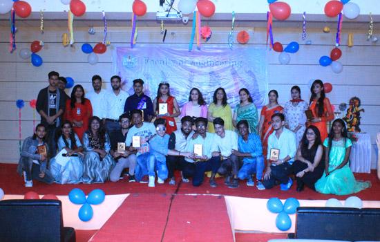 पेसिफिक विश्वविद्यालय के फैकल्टी ऑफ इंजीनियरिंग में फ्रेशर्स पार्टी का आयोजन