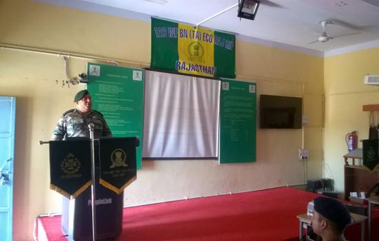 प्रादेशिक सेना में भर्त्ती के अवसर ः- कर्नल रोहित कोचर