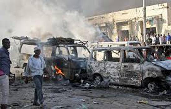 मोगादिशु में विस्फोटों से 20 लोगों की मौत