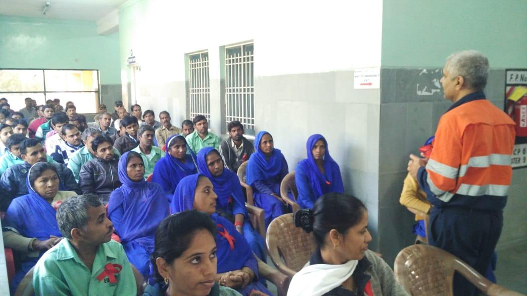 जिंक द्वारा एड्स जागरूकता कार्यक्रम आयोजित