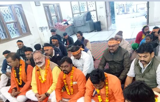 अंतर्राष्ट्रीय हिन्दू परिषद एवं राष्ट्रिय बजरंग दल ने की शीघ्र राम मंदिर बनाने की