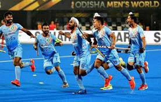 भारतीय हॉकी टीम क्वार्टर फाइनल में जगह बनाने उतरेगी