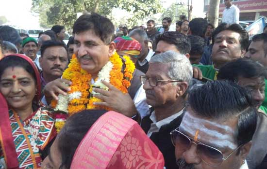 राज्व मंञी हरीश चौधरी का जोधपुर मे आज भव्य स्वागत