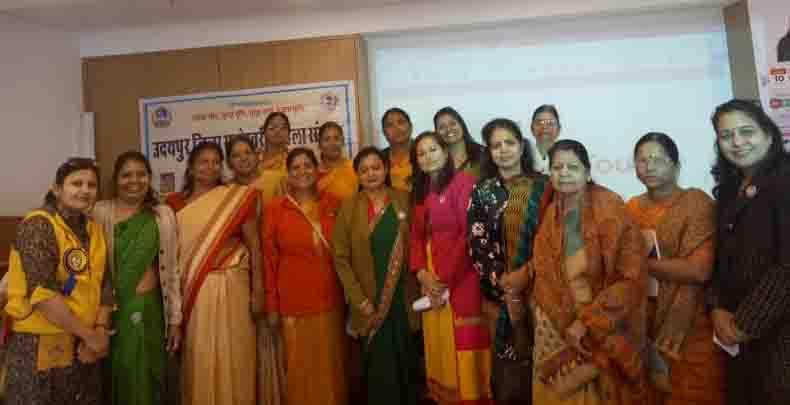 निःषुल्क स्वास्थ्य जांच एवं वार्ता कार्यक्रम