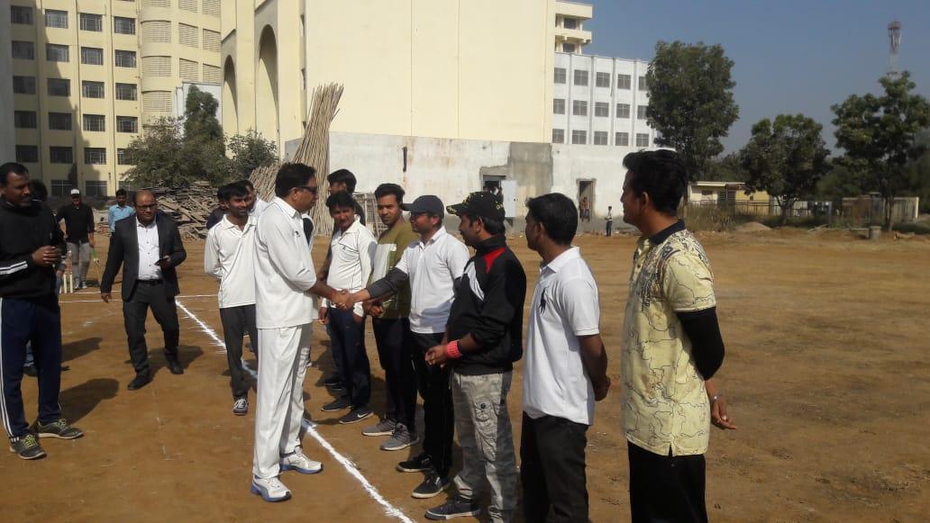 'गीतांजली फाउंडेषन क्रिकेट कप का आगाज