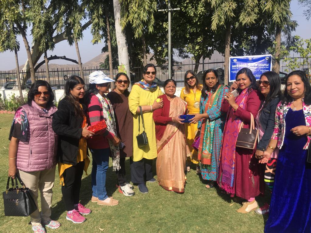 इनरव्हील क्लब उदयपुर: महिलाओं ने मनाया मकर संक्रान्ति पर्व