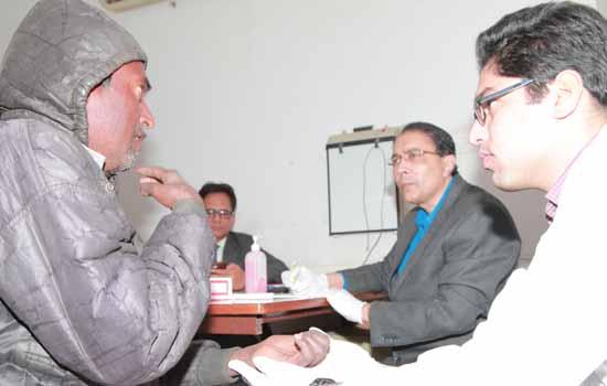 'निःशुल्क कुश्ठ रोग विकलांगता पुर्ननिर्माण शल्य चिकित्सा शिविर'