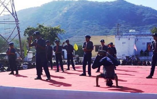 जिला स्तरीय स्काउट व गाइड रैली में हुए विविध आयोजन