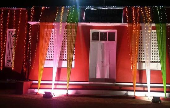 न्यायालय परिसर में रंगारंग साजसज्जा के साथ मनाया गया गणतंत्र दिवस
