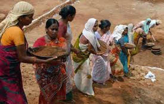 महात्मा गांधी नरेगा योजनान्तर्गत काम मांगों विशेष अभियान कार्यक्रम
