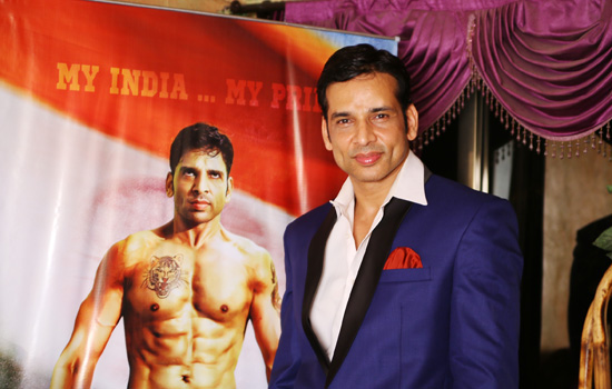 """Film 'V for Victor', based on boxing with the back drop of terrorism.""- Sudip Pandey"