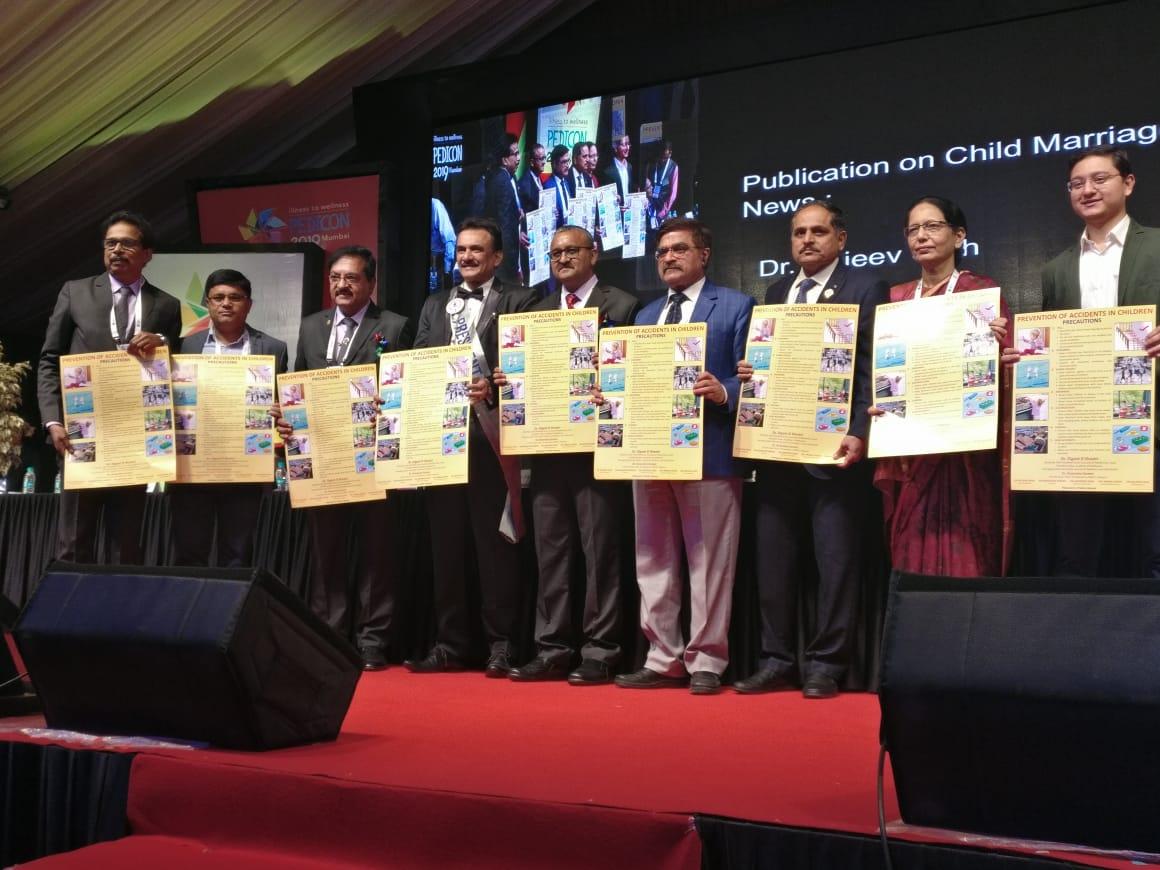 डॉ सरीन के पोस्टर का राष्ट्रीय अधिवेशन में विमोचन'