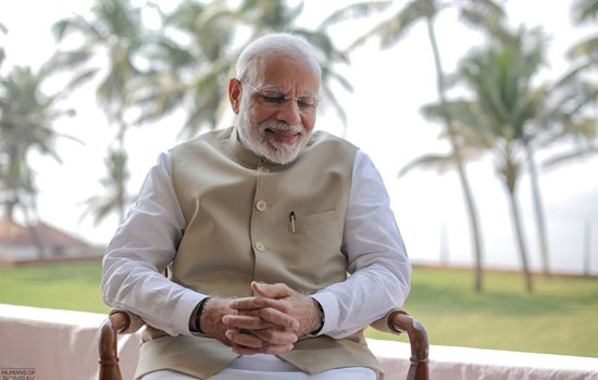 Serving people - An inherent part of my upbringing says PM Modi