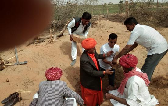 बाबा रामदेव जन्म स्थली मंदिर प्राण प्रतिष्ठा महोत्सव को लेकर तैयारियां जोरों पर