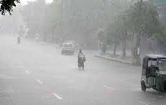 दिल्ली में हल्की बारिश से हुआ मौसम सुहावना