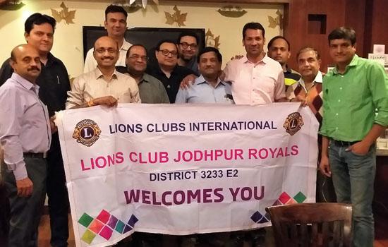 लॉयंस क्लब जोधपुर रॉयल्स की साधारण सभा आयोजित