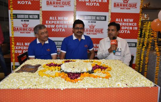भारत की अग्रणी रेस्टोरेंट्स चेन बार्बी क्यू नेशन रेस्टोरेंट का हुआ लॉन्च