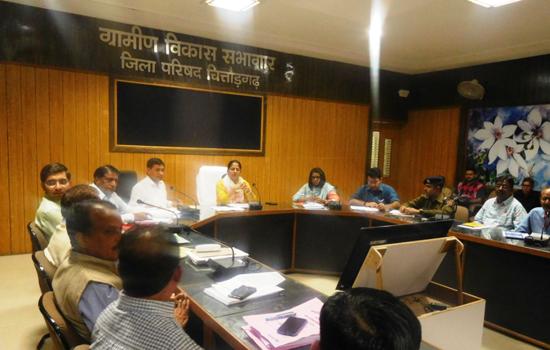 लोकसभा आम चुनाव-२०१९ - प्रभारी अधिकारियों की बैठक
