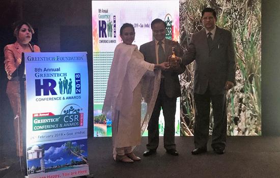 Godfrey Phillips India wins the 6th Annual Greentech CSR Gold Award 2018 for its Farmer  Community Program