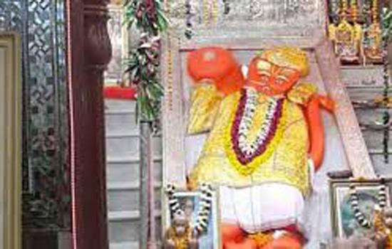 हनुमानजी के मंदिर में फागोत्सव शनिवार को