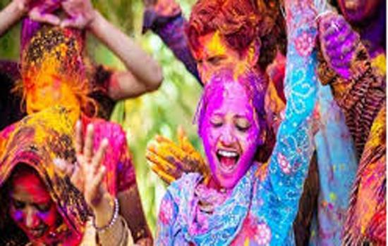 होली के अवसर पर उपभोक्ता भण्डार से 1500 रुपये की  खरीद पर 3 प्रतिशत विशेष छूट