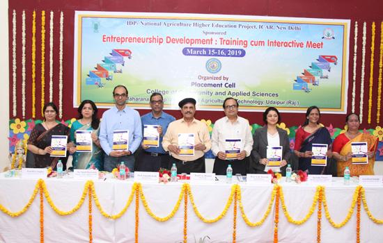 ''उद्यमिता विकास'' पर दो दिवसीय प्रशिक्षण का उद्घाटन