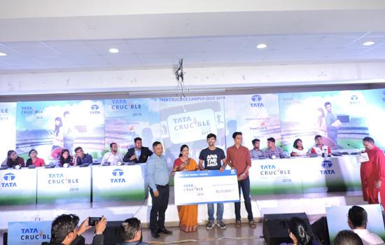 पेसिफिक में आयोजित टाटा क्विज में एम्स जोधपुर विजेता