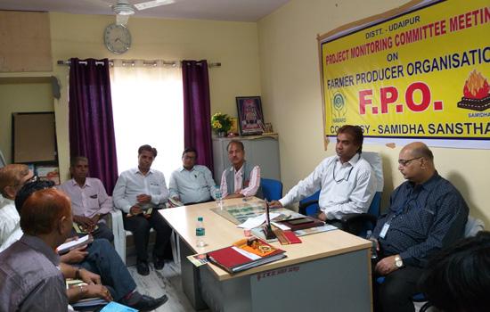 फार्मर प्रोड्यूसर ऑर्गनाइजेशन योजना पर कार्यशाला का आयोजन