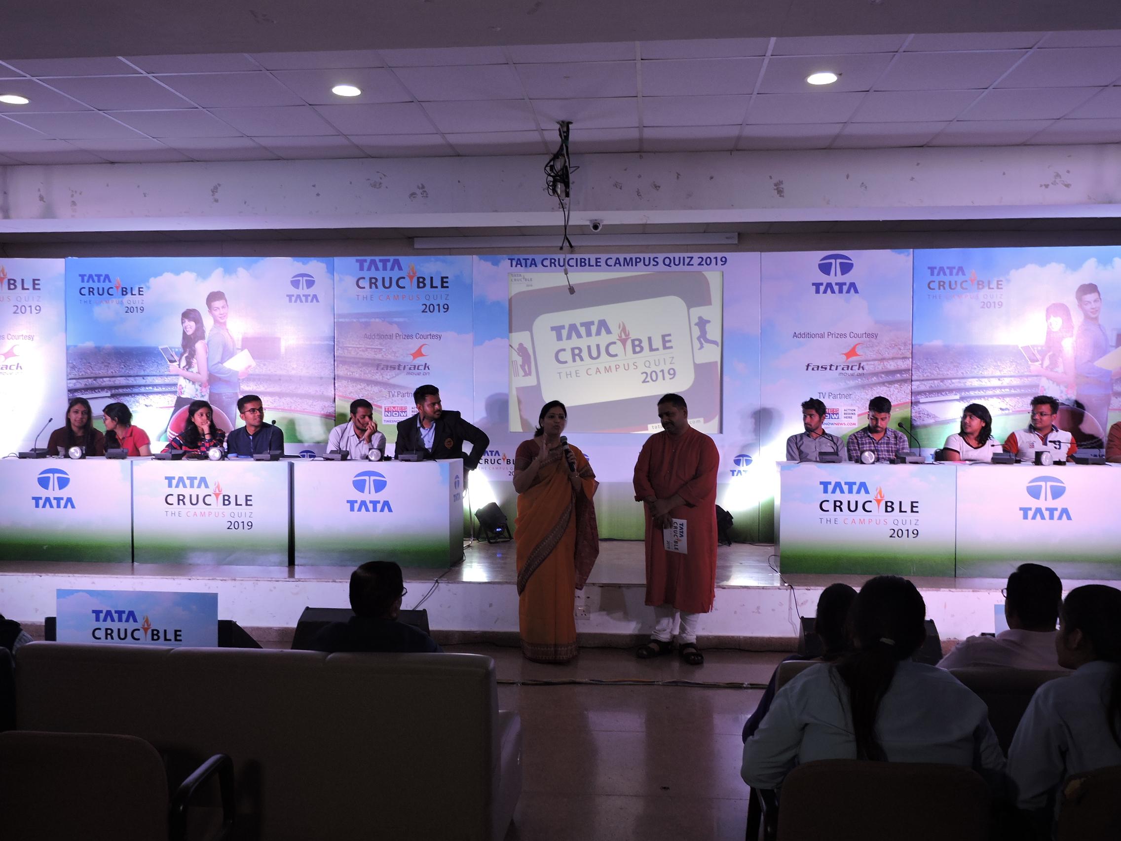 Pacific Organizes the Tata Crucible Campus Quiz