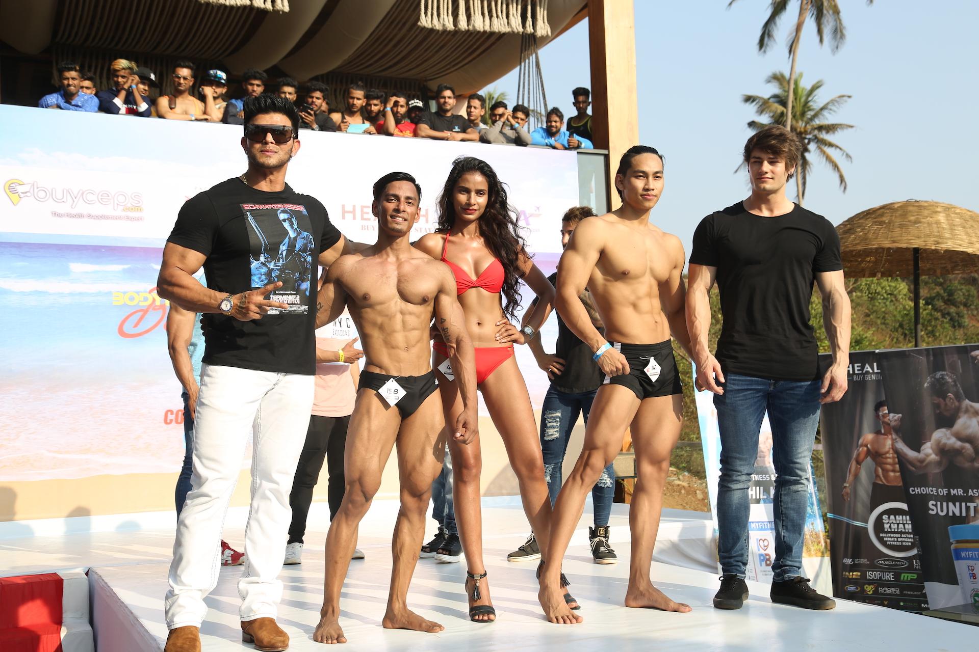"""साहिल खान ने गोवा में आयोजित किया बॉडी पॉवर """"बीच बॉडी कॉर्निवाल """""""