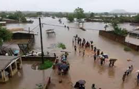 मोजाम्बिक में तूफान का तांडव