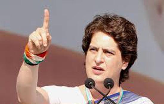 देश के विकास के लिये होनी चाहिये राजनीति-प्रियंका गांधी