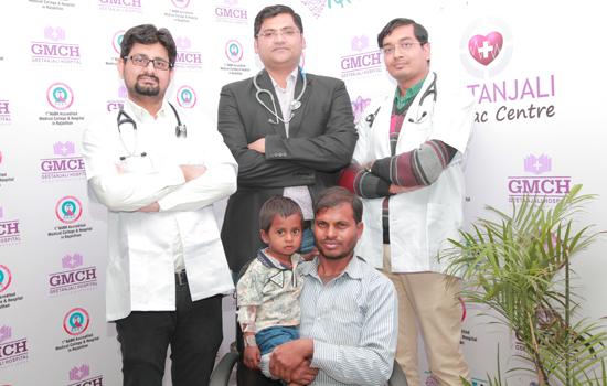 'हृदय में छेद का सफल उपचार'