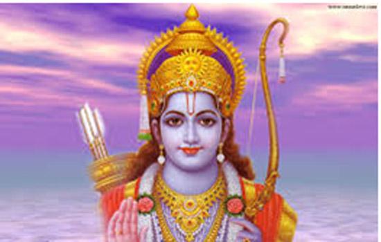 """""""रामनवमी संसार के एक प्राचीन आदर्श राजा राम से जुड़ा पावन पर्व है"""""""