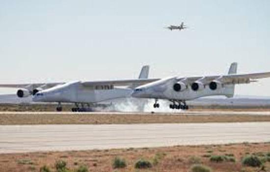 विश्व के सबसे बड़े विमान ने भरी उड़ान