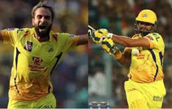 चेन्नई की जीत में चमके ताहिर और  रैना