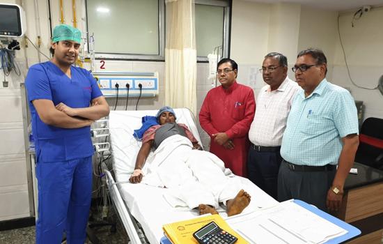 भारत विकास परिषद चिकित्सालय के हार्ट सर्जन डॉ. सौरभ शर्मा ने महिला को दिया नया जीवनदान