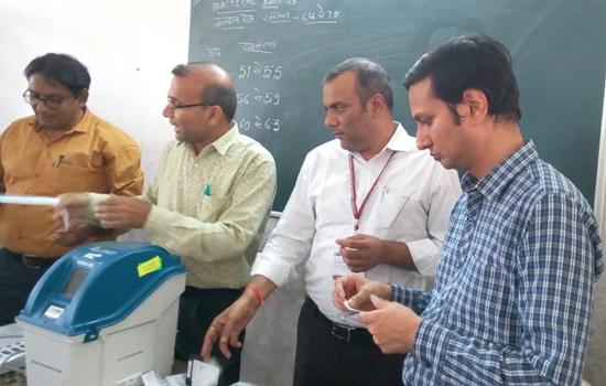 मतदानकर्मियों का द्वितीय प्रशिक्षण शुरू