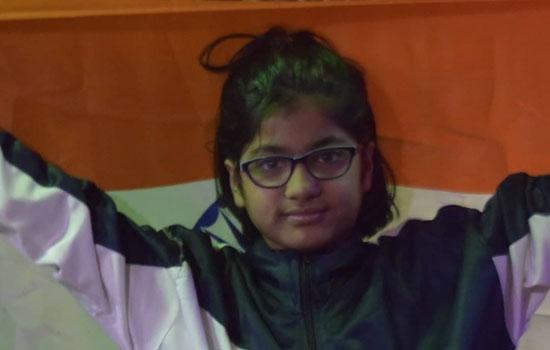 जयपुर की 9 वर्षीय बेटी जीविशा गुप्ता को अंतर्राष्ट्रीय खेलों में चांदी