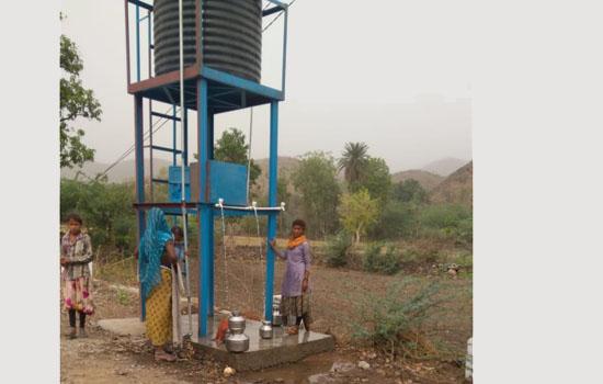 जिंक द्वारा कानपुर गाँव में पहची पेयजल सुविधा